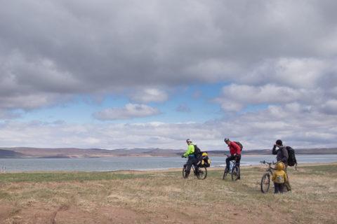 Bike travel through Khakassia