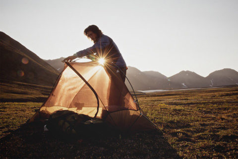 Как выбрать туристическую палатку для похода