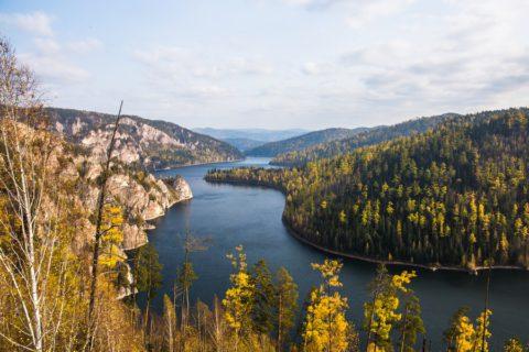 Совместные прогулки: на Красноярское море
