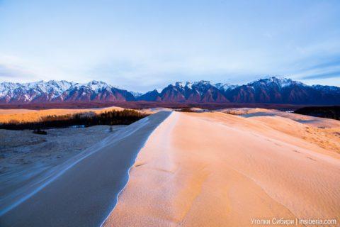 Чарские пески — самая северная пустыня
