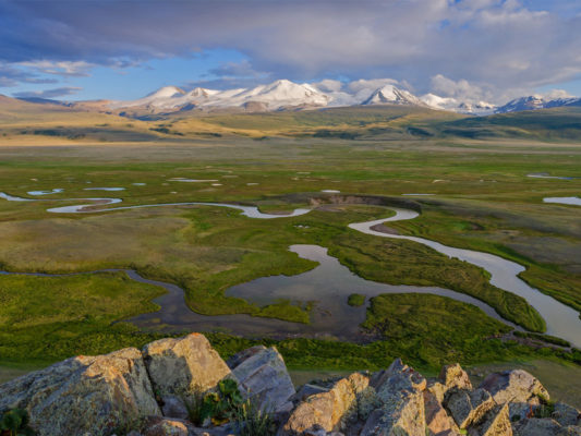 Путешествие на плато Укок и в долину реки Чулышман 2018