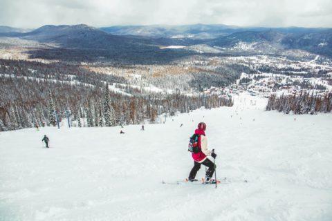 Туда, где снег восемь месяцев в году: лыжные трассы Шерегеша