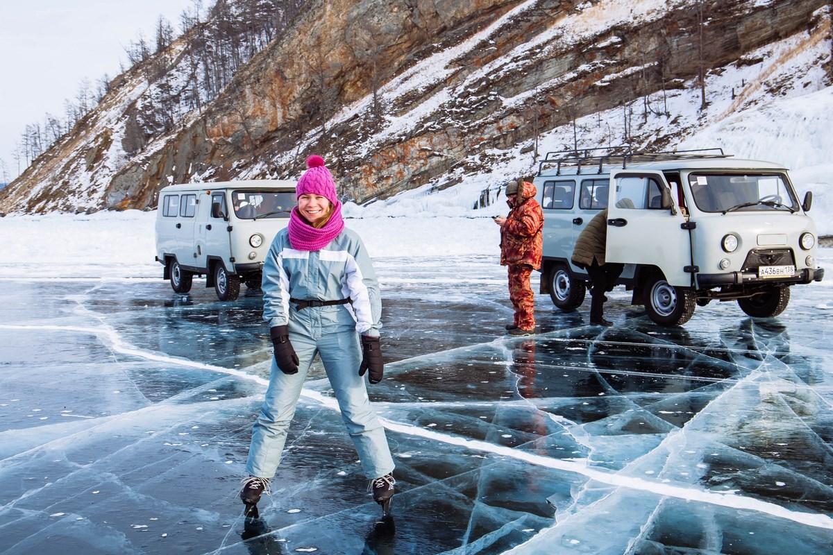 лед Байкала - Уголки Сибири
